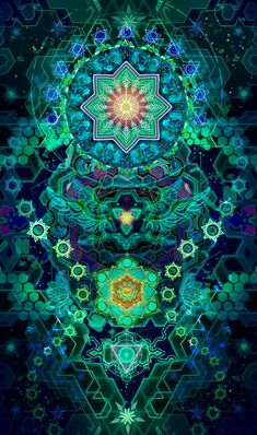 Wonderful patterns and colors Sacred Geometry Art, Sacred Art, Art Visionnaire, Psychedelic Tapestry, Trippy Tapestry, Psychadelic Art, Chakra Art, Whatsapp Wallpaper, Psy Art