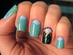 Disney Frozen Nail Art Manicure