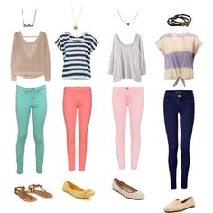 Casual, created by emmib on Polyvore