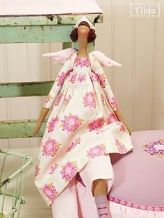 tilda doll - I love Tilda's designs!