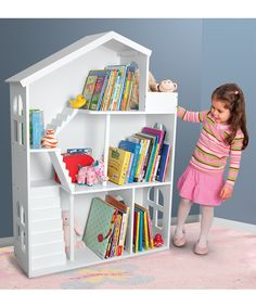Awesome idea!!! on sale on zulilly! Bookshelf Dollhouse | Daily deals for moms, babies and kids