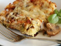 This hearty breakfast meal, full of fresh tomatoes and mushrooms, gets much of its terrific flavor and texture from the English muffins that line the bottom of the dish. I found this on wholefoodsmarket.com