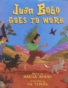 Montes, M. (2000). Juan Bobo goes to work. Hong Kong: Harper Collins Publishers.  Juan is a boy who never gets anything right. His mother sends him to work but he can't seem to do any of the jobs correctly and he cant seem to get his payment home ever. Sometimes he was paid in money, milk, cheese, and ham but none of them got home. One day will he was dragging his ham home he passed by a house with a sick girl, she saw Juan and laughed. Her father was over joyed that he sent a ham every…