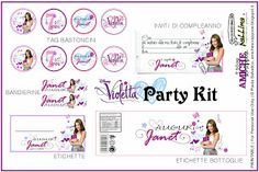 party kit for Violetta theme