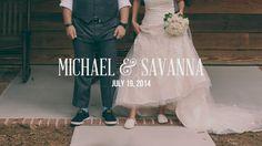 Michael & Savanna Wedding