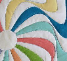 Geta's Quilting Studio: Tutorial- raw edge applique