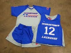 Get custom team uniforms including  reversibles, shorts and shooter shirts.  Made to order in Maryland USA.