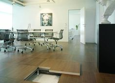 Wooden raised access floor - ELEVFLOOR - Oddicini Industrie