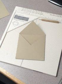 The Paper Nest: Making Envelopes......=)