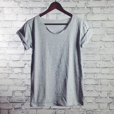 gshirt heather grey (basic) - gegoART - Koszulki i bluzy