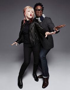 "KINKY BOOTS' Cyndi Lauper and Billy Porter get into the groove with Gap's ""Make Love"" ad"