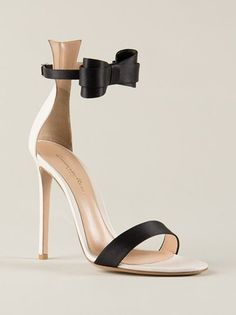 Gianvito Rossi Bow Buckle Sandals