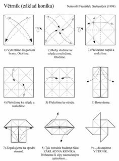 directions of how to make a paper windmill