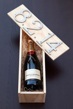 Expensive Looking DIY Wedding Gift Ideas - DIY Wedding Wine Box Gift - Easy and Unique Homemade Gift Ideas for Bride and Groom - Cheap Presents You Can Make for the Couple- for the Home, From The Kids, Personalized Ideas for Parents and Bridesmaids | http://diyjoy.com/cheap-diy-wedding-gifts #bridemaidsgiftsdiycheap #weddinggiftsdiy #weddingideas