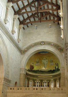 Mount Tabor www.ffhl.org #Franciscan #HolyLand