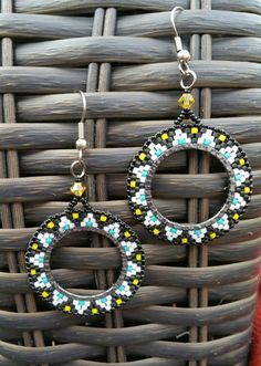 Check out this item in my Etsy shop https://www.etsy.com/listing/238256960/native-american-style-medallion-earrings