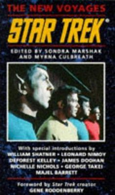 book cover of   Star Trek The New Voyages