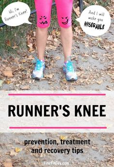 Run It - A Workout for Runner's Knee (plus 5 more workouts for running injuries!) - Fine Fit Day - Run It – A Workout for Runner's Knee (plus 5 more workouts for running injuries! Running Training, Running Workouts, Running Tips, Running Quotes, Running Blogs, Interval Running, Running Form, Tabata Workouts, Running Humor