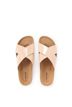Harriet Sandal in Pale Pink   Country Road