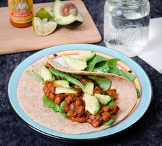 Savory BBQ Tacos with Avocado   Food Fitness Fresh Air