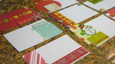 Homemade Recipe Cards for a Holiday Recipe Book!