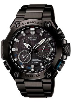 G-Shock MR-G GPS Atomic Solar Hybrid -Ultra Limited Edition Watch | Discover more: www.bocadolobo.com
