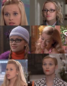 "And, also, did you notice how Elle has a different hairstyle in nearly every scene. | 17 Things You Missed In ""Legally Blonde"""