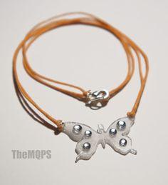 *Wiosenny motyl* naszyjnik 100% original & handmade. Więcej na: themqps.blogspot.com