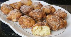 Buñuelos de manzana, un delicioso dulce o postre casero que suele consumirse todo el año.