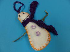 sneeuwpop met stokje