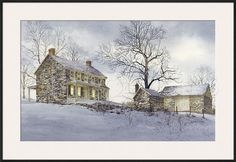 Evening Quiet Framed Giclee Print by Ray Hendershot at AllPosters.com