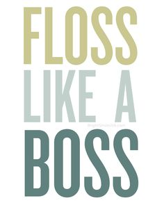 Floss Like a Boss Print || Click for free download of the file {prints without the watermark}