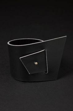Aumorfia | POLYGON | leather manchette http://aumorfia.com/shop/product-one/