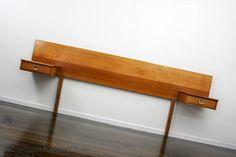 MID Century Modern Bedside Tables Drawers Bedhead Headboard Retro Vintage Danish in Narre Warren, 360 MODERN FURNITURE VIC | eBay