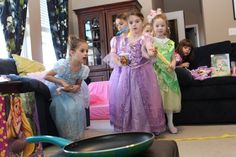 Rapunzel birthday party- activity, throw Pascal into the frying pan. Get small lizards and see how many each child can throw into the frying pan. Rapunzel Birthday Party, Tangled Party, Birthday Party Games, Princess Birthday, Birthday Fun, Birthday Ideas, Birthday Celebration, Disney Party Games, Princess Party Games