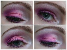 pink & purple smokey eye makeup via @beautybymissl