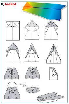 Kağıtları Hazırlayın, Uçak Yapıyoruz! 12 Farklı Şema ile Kağıttan Uçak Yapımı