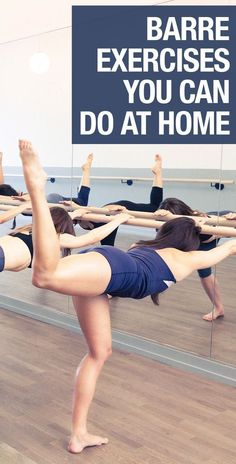 Here are the best barre exercises you can do in your living room.