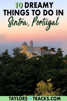There are plenty of day trips from Lisbon but a day trip to Sintra is the best. Colourful palaces, fairytale-like gardens and hidden tunnels intrigue visitors. Sintra Portugal, Visit Portugal, Spain And Portugal, Europe Travel Tips, Spain Travel, Travel Destinations, Travel Info, Travel Hacks, Travel Advice