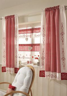Interior: Endearing Linen Drapes With Curtain Rod For . Exclusive Curtains Swags Swag Curtains For Large Windows . Home and Family Decor, Chic Kitchen, Curtains, Drapes Curtains, Home, Shabby Chic Kitchen, White Decor, Country Curtains, Home Decor
