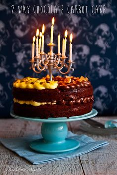 The Best Chocolate Carrot Cake For Easter!