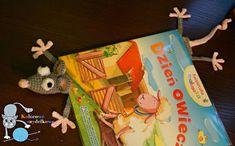 Kolorowe szydełkowe: Szczurek - zakładka do książki