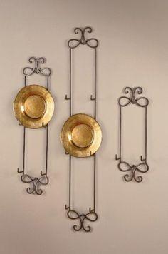 Regal Decorative Plate Display Rack | Plate racks, Tapestry wall ...