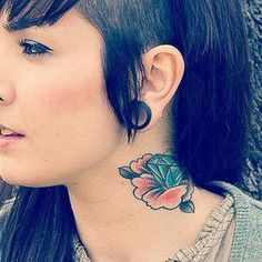 Taste of Ink Let Your Hair Down, Professional Tattoo, Nose Hoop, Tattoo Supplies, Body Piercings, Favim, Body Modifications, Down Hairstyles, Body Art Tattoos