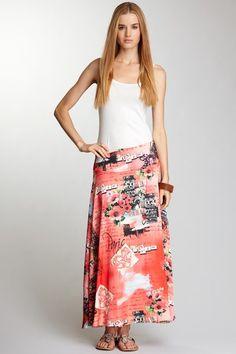 {Paris Maxi Skirt} YASB