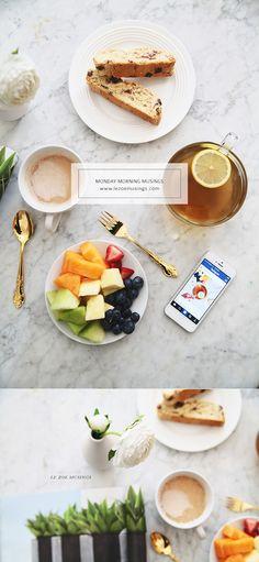 Breakfast sips and treats by Le Zoe Musings