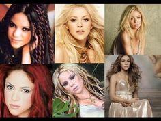 Shakira y sus múltiples  looks cambios de imagen¡¡  SU EVOLUCION