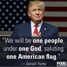 One God, One American Flag! If you live in America respect our Flag! Vote Trump to support our American traditions. - MAN, I can't wait for America to be America again! First American Flag, American Pride, American Freedom, American Girls, American History, I Love America, God Bless America, Ivanka Trump, Donald Trump