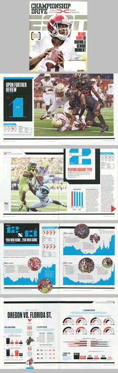 ESPN, January 2015 issue. Championhip Drive issue.