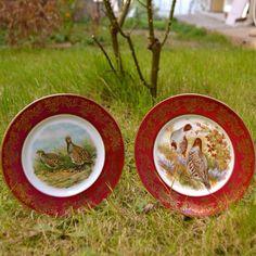 Fransız Limoges duvar tabakları, zamansız hediyeler...
